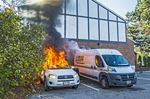Vehicle fire in Thornhill